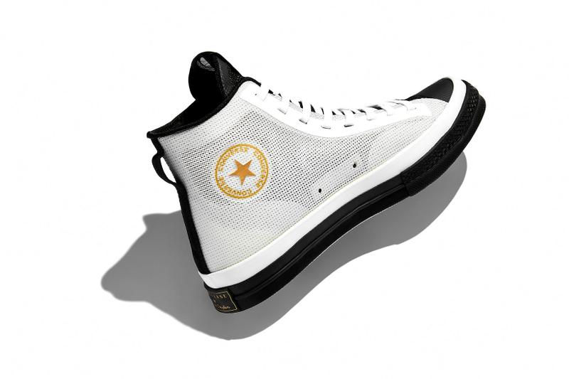 converse spring summer basketball collection high top lateral chuck 70 white black yellow