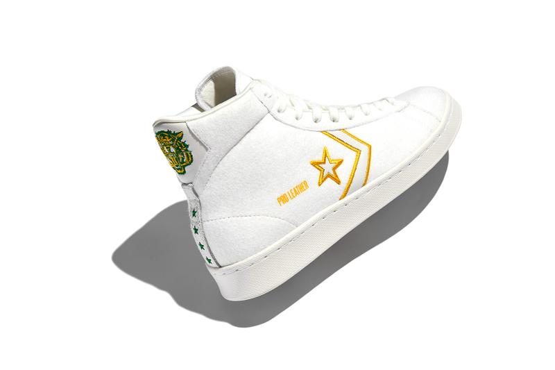 converse spring summer basketball collection high top lateral chuck 70 white yellow