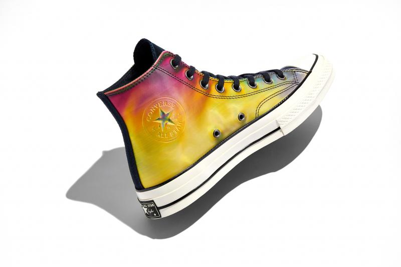 converse spring summer basketball collection high top lateral chuck 70 yellow pink white