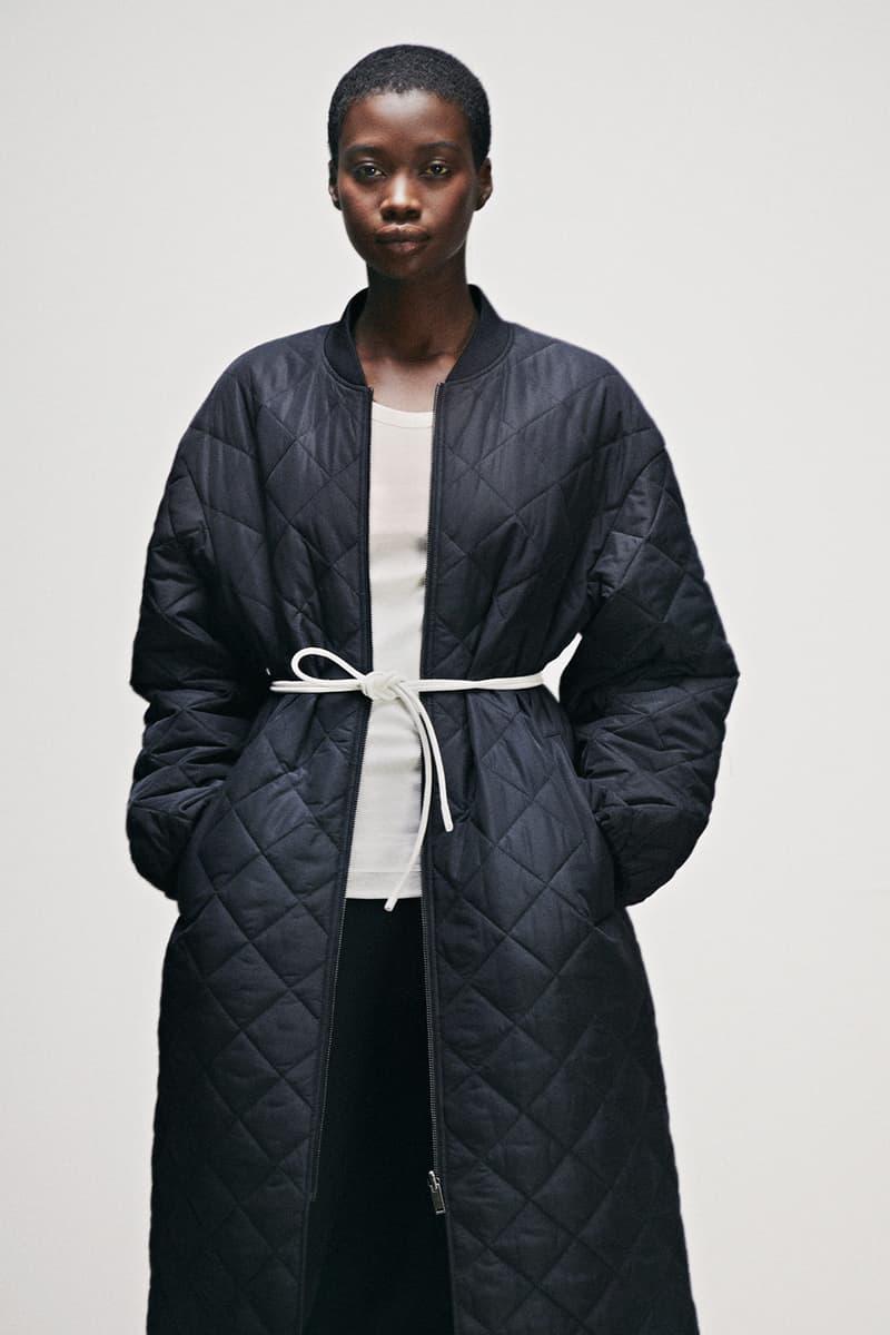 cos activewear collection drop 2 womens outerwear jacket shirt leggings black