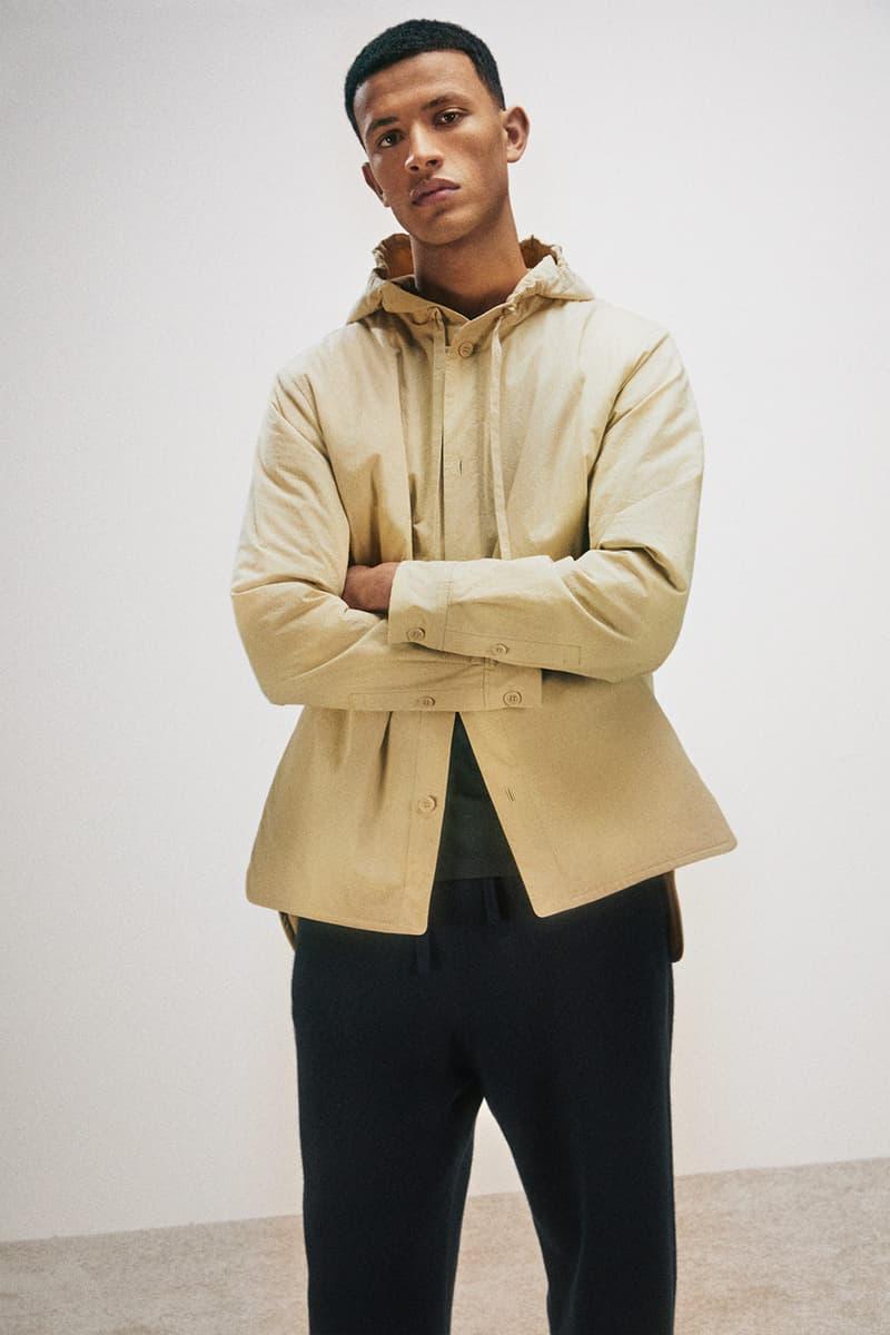 cos activewear collection drop 2 mens jacket outerwear pants black