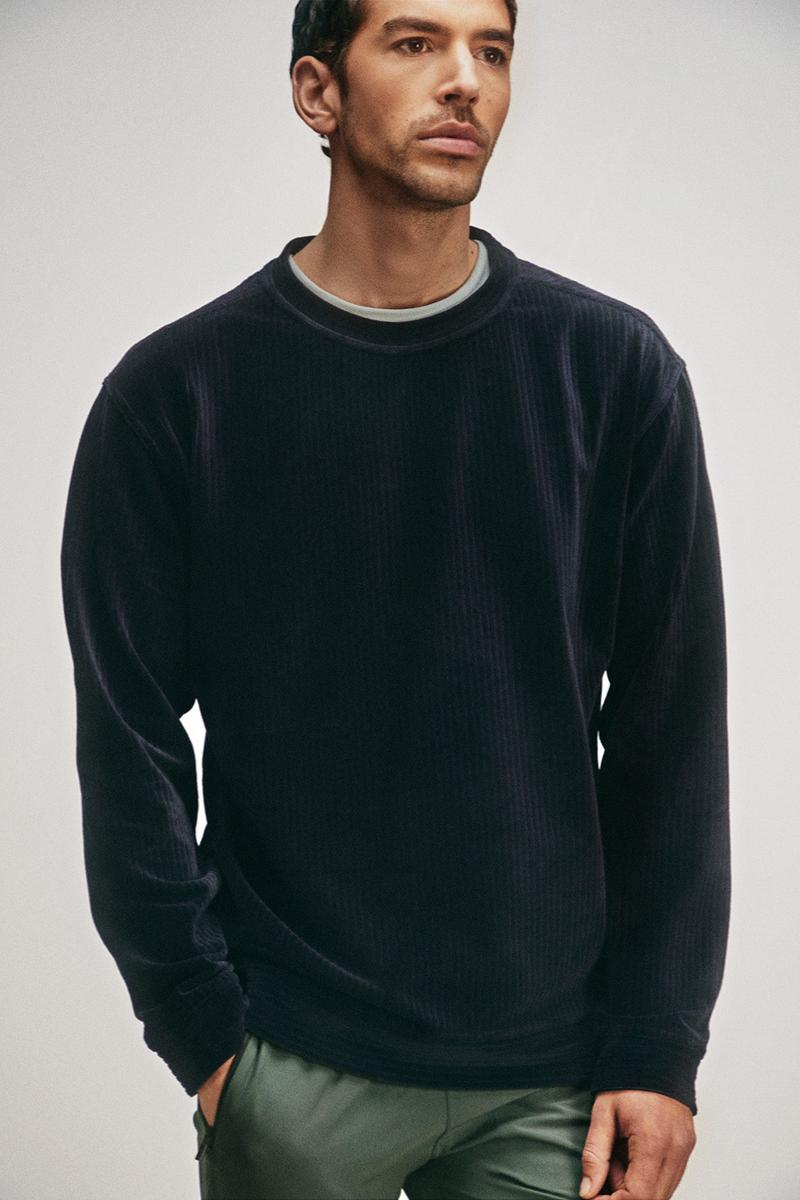 cos activewear collection drop 2 mens sweater black pants green