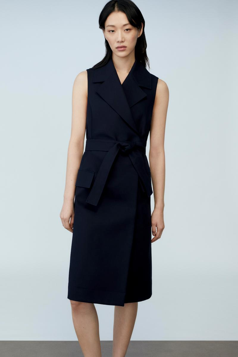 sora choi cos spring womenswear summer collection lookbook lack dress belt