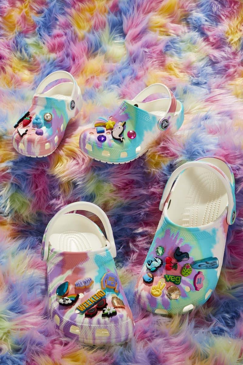 Crocs Rainbow Clogs Collection Release Drop Capsule Pastel