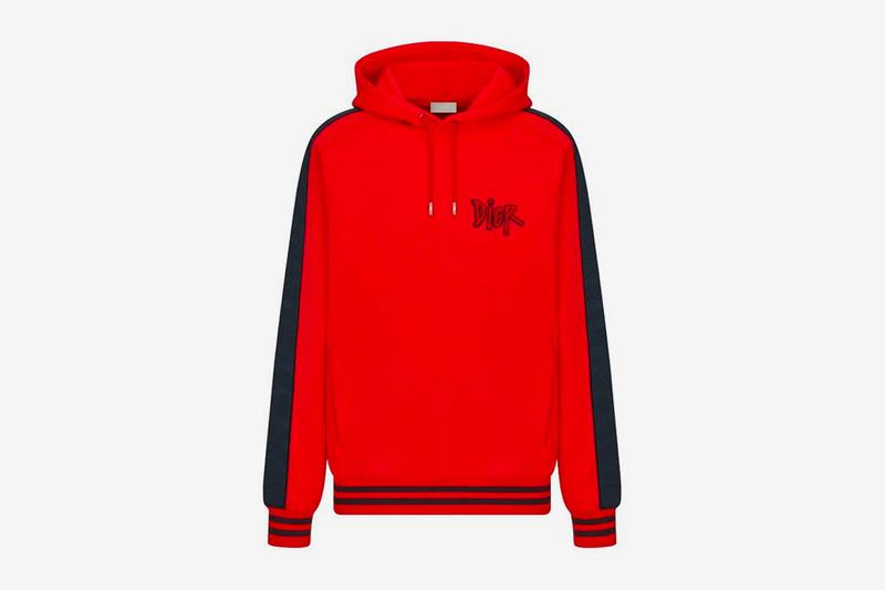 dior shawn stussy chinese lunar new year ox capsule collection hoodie sweatshirt red