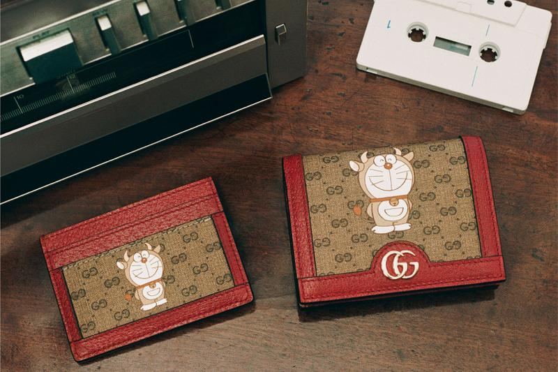 Doraemon x Gucci Collaboration Collection Lunar Chinese New Year Campaign Sneaker Phone Case