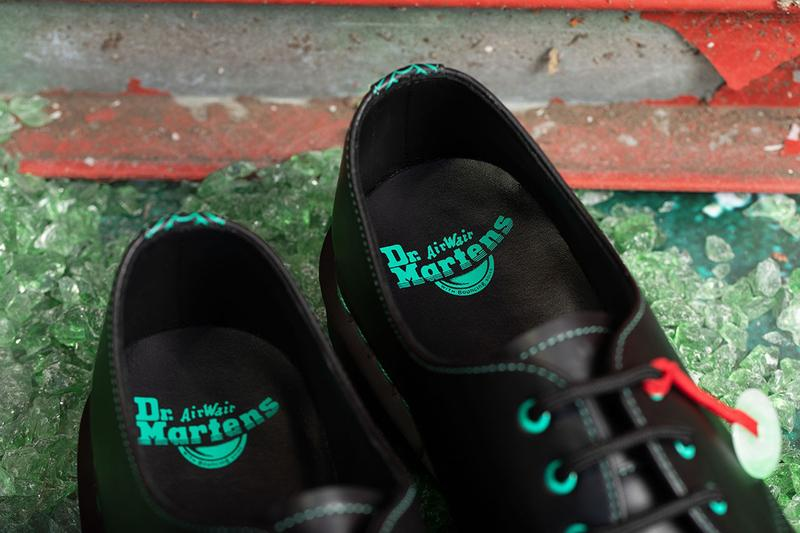 Dr. Martens Chinese Lunar New Year 1461 Jade Pendant Shoe