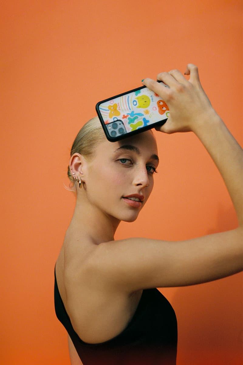 emma chamberlain wildflower iphone cases collaboration