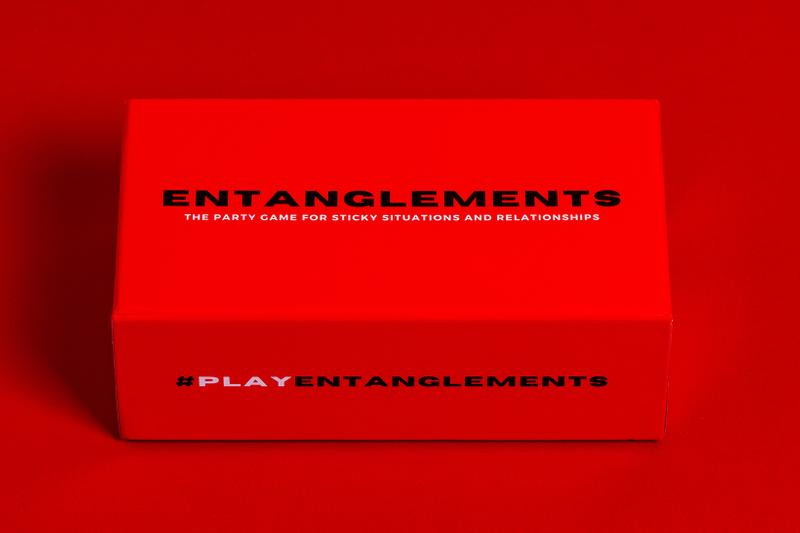 Entanglements Adult Card Game