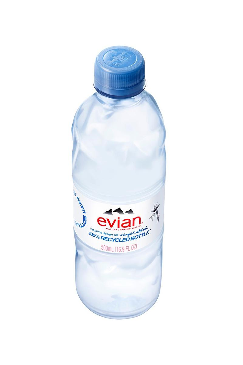Evian Recycled Water Bottle