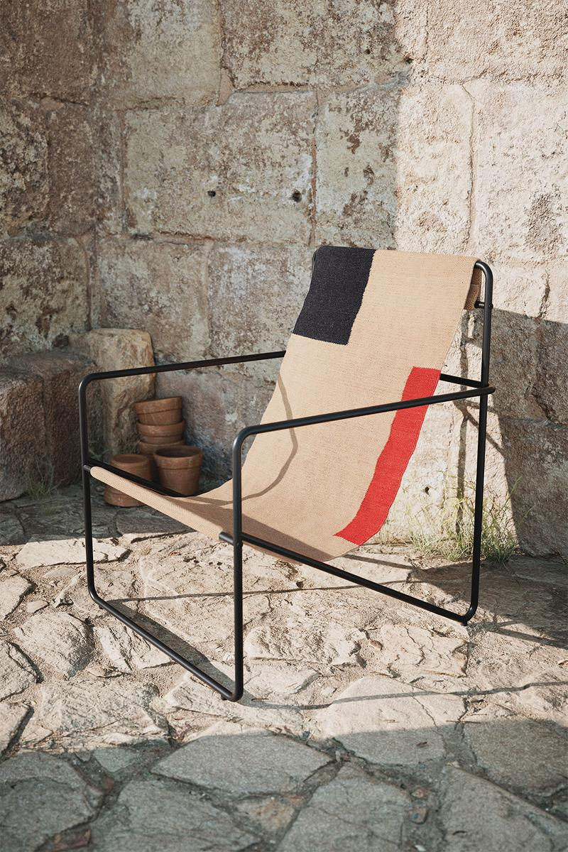 ferm living spring summer ss21 pre collection outdoor poetry furniture homeware lounge chair