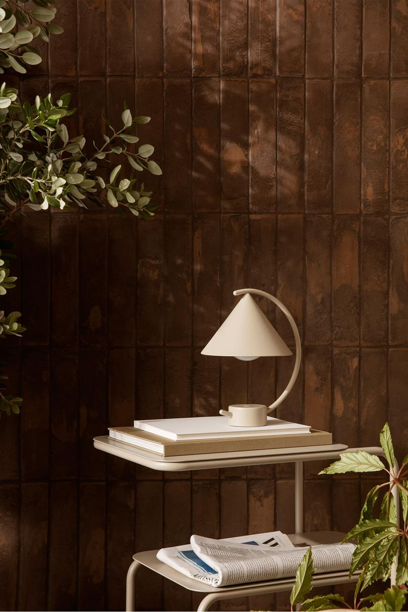 ferm living spring summer ss21 pre collection outdoor poetry furniture homeware side table lamp