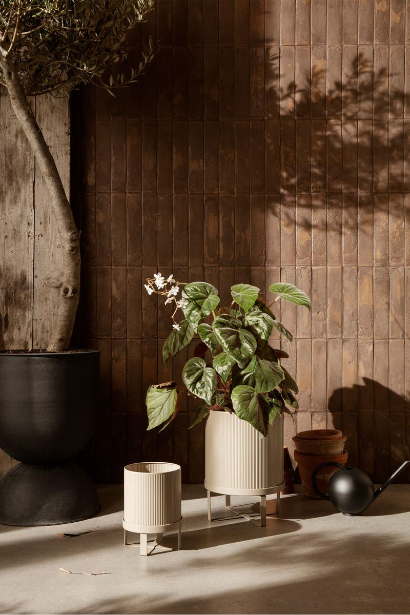 ferm living spring summer ss21 pre collection outdoor poetry furniture homeware plant pot vases