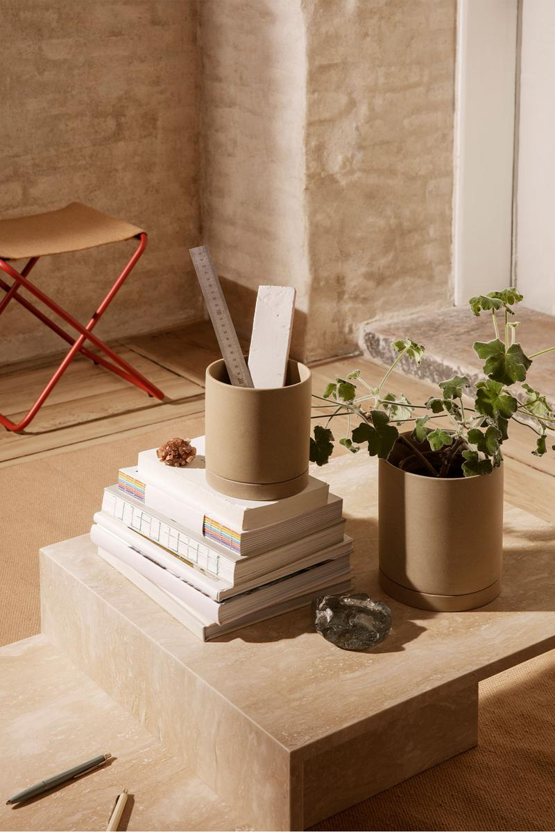 ferm living spring summer ss21 pre collection outdoor poetry furniture homeware pen holder stationery