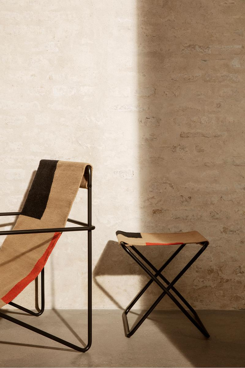 ferm living spring summer ss21 pre collection outdoor poetry furniture homeware stool lounge chair