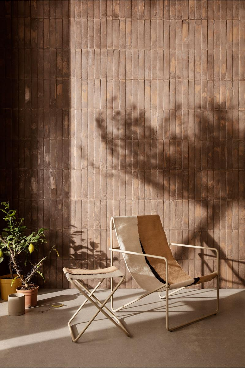 ferm living spring summer ss21 pre collection outdoor poetry furniture homeware lounge chair stool