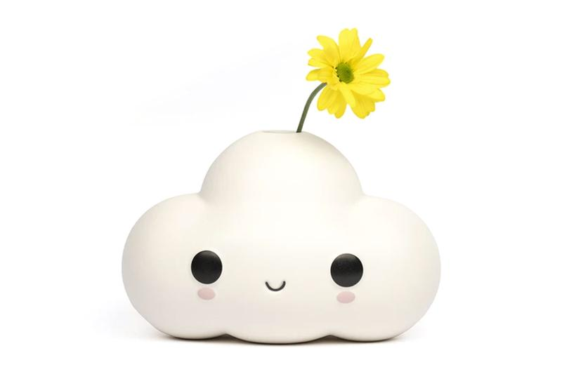 friendswithyou little cloud flower plant vase design decor home yellow daisy
