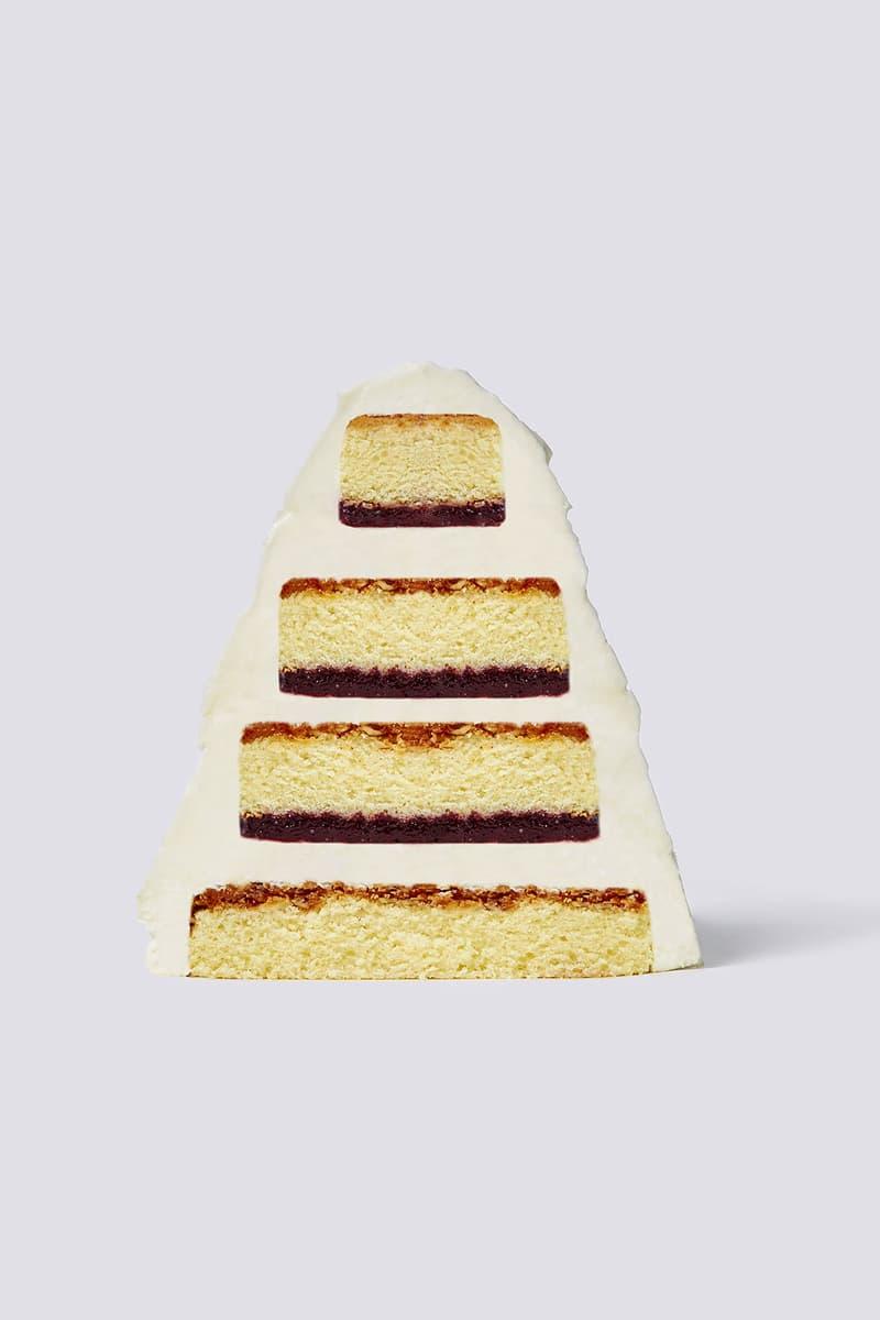 nudake gentle monster dessert brand seoul flagship cake pine cone white cake