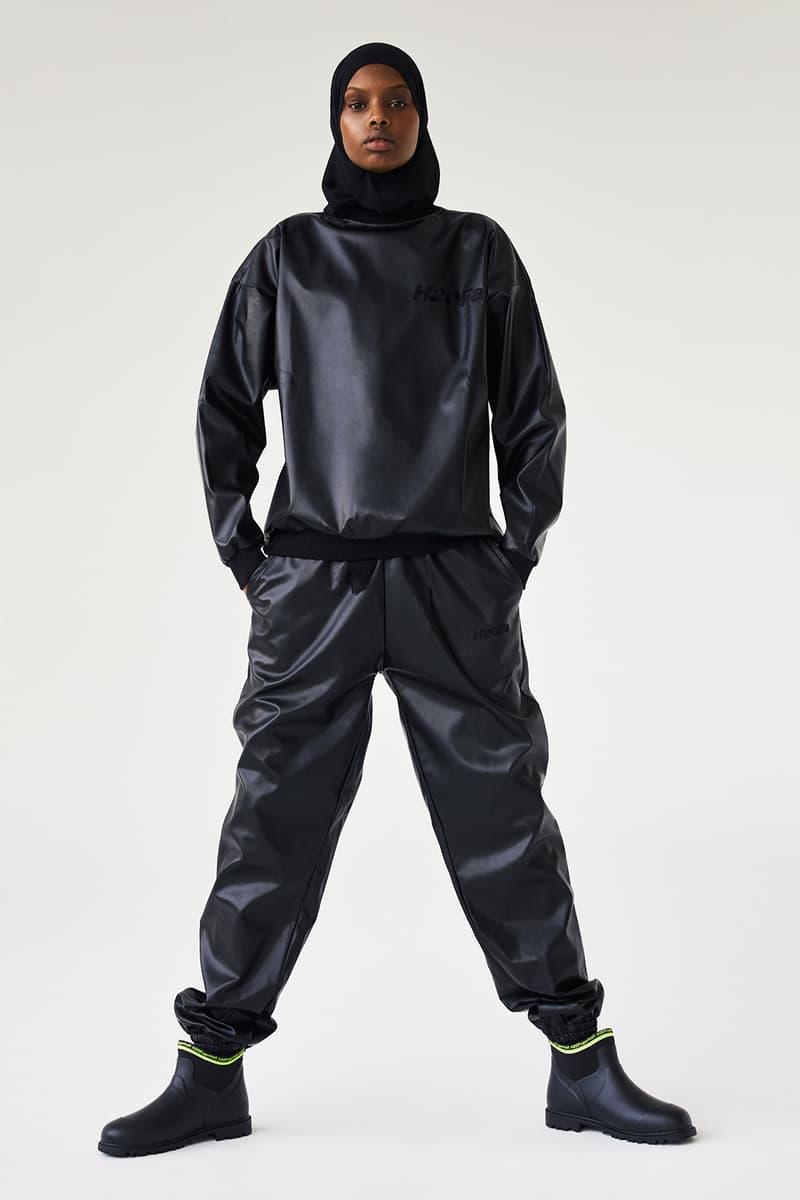 H2OFagerholt Rain Boots Black Top Pants SS21 Collection Lookbook Campaign Loungewear Sportswear Activewear Danish Copenhagen Leisure Sports Brand Julie Bex Fagerholt