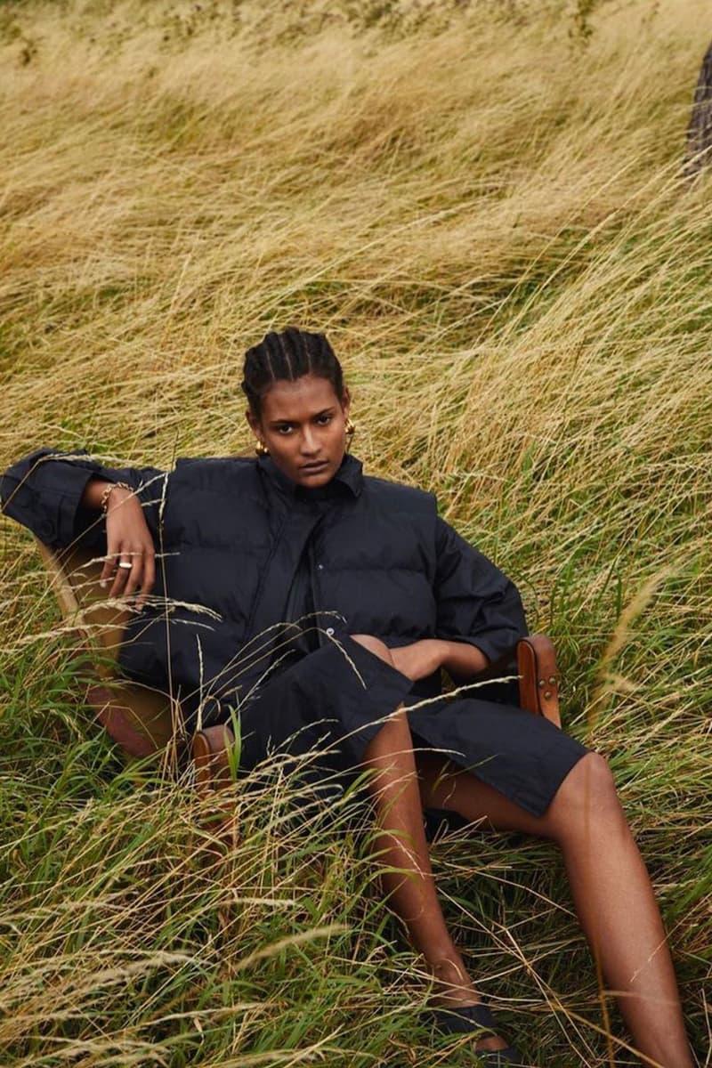 H2OFagerholt Black Jacket SS21 Collection Lookbook Campaign Loungewear Sportswear Activewear Danish Copenhagen Leisure Sports Brand Julie Bex Fagerholt