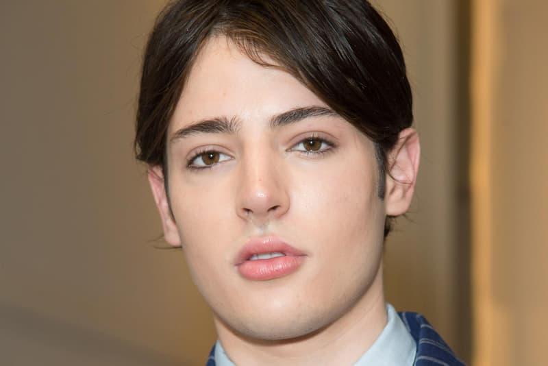 Harry Brant Paris Fashion Week 2016