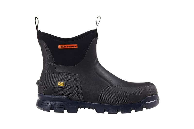 Heron Preston x CAT Footwear Collaboration Stormer Boot Intruder Shoe Sneaker