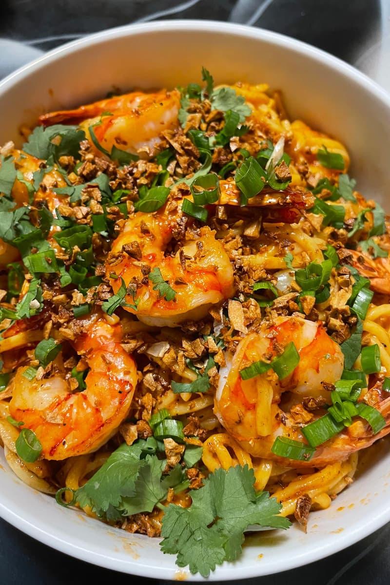 Tet Noodles Madame Vo Shrimp Jimmy Ly