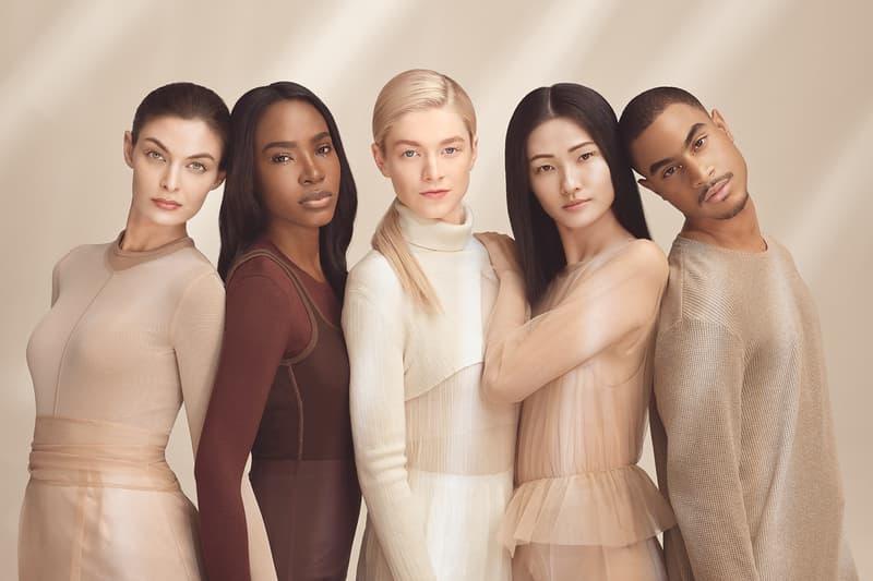 Hunter Schafer Shiseido Makeup Campaign Synchro Foundation Primer Spring/Summer 2021