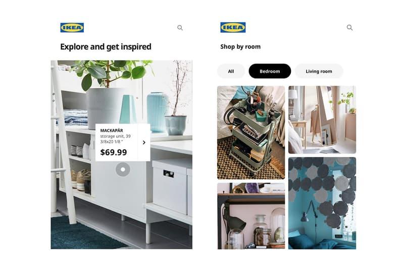 ikea united states app update shopping platform home screenshot furniture homeware bedroom living room