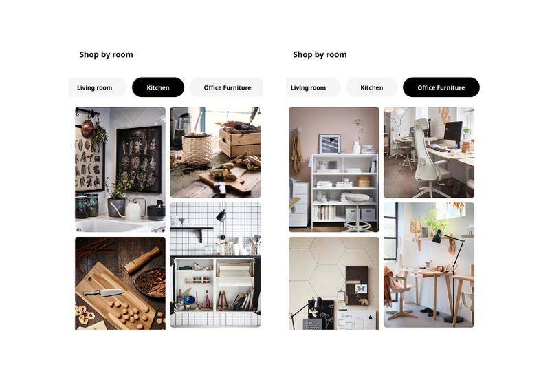 ikea united states app update shopping platform home screenshot furniture homeware bedroom living room kitchen chairs tables lamps