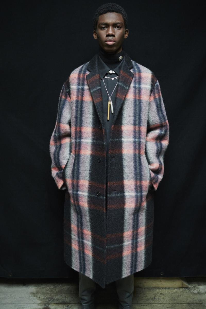 jil sander menswear fall winter fw21 collection lookbook plaid check coat