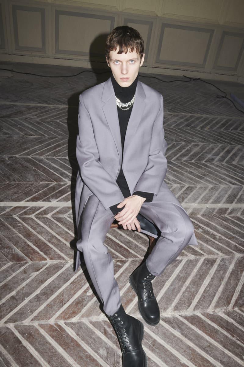 jil sander menswear fall winter fw21 collection lookbook gray jacket coat