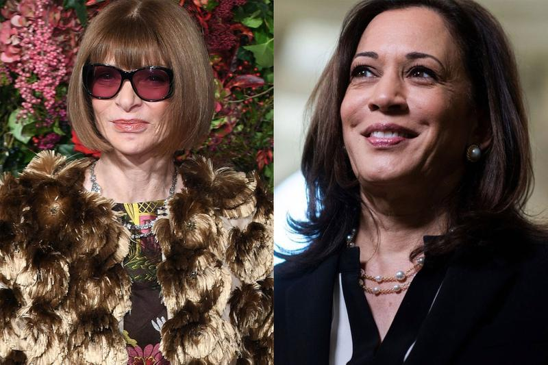 kamala harris vogue february cover anna wintour editor in chief vice president elect usa controversy