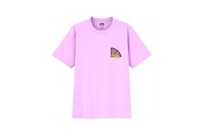 keith haring uniqlo collaboration tees t shirt purple organ zaka
