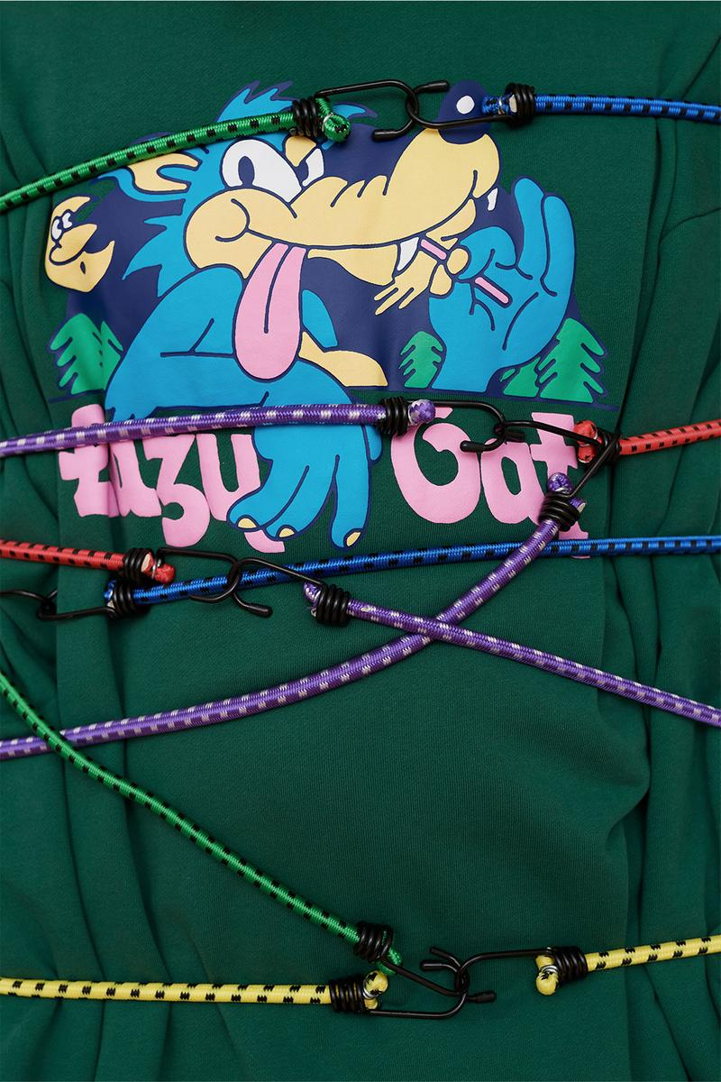 Lazy Oaf Take A Hike Outdoor Hiking Collection Lookbook Mountain Rope Buckles