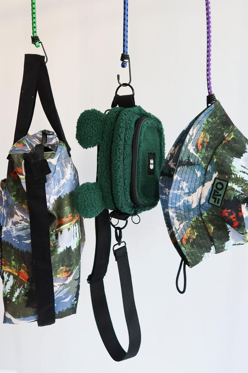 Lazy Oaf Take A Hike Outdoor Hiking Collection Lookbook Accessories Bucket Hat Bag