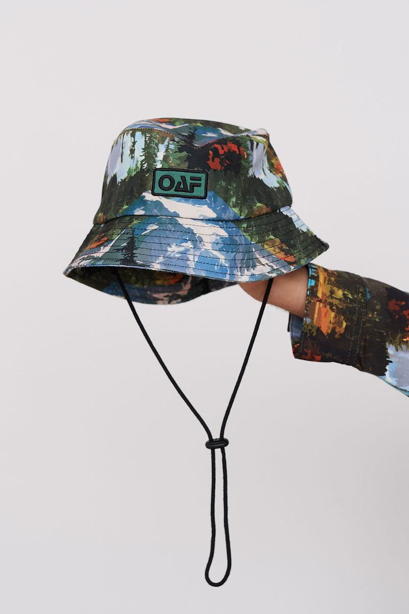 Lazy Oaf Take A Hike Outdoor Hiking Collection Lookbook Bucket Hat Accessories