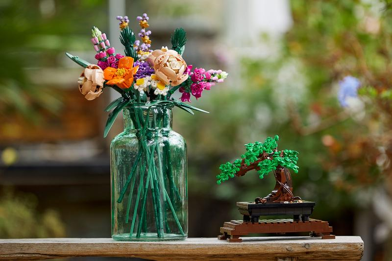 lego botanical collection flowers vases bonsai tree figures toys collectibles