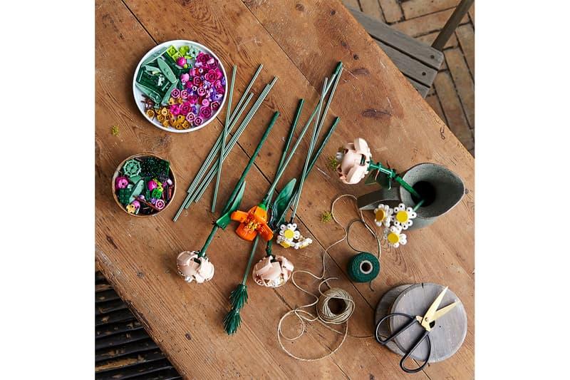lego botanical collection flowers arragements figures toys collectibles