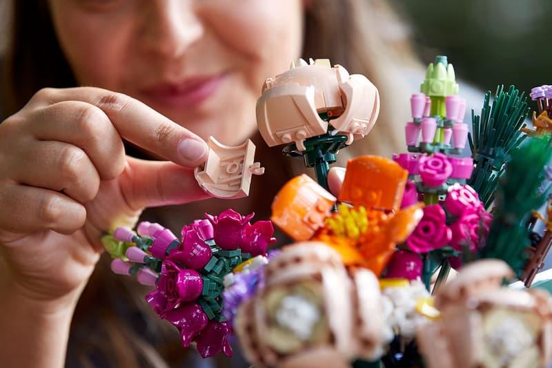 lego botanical collection flowers arrangements figures toys collectibles