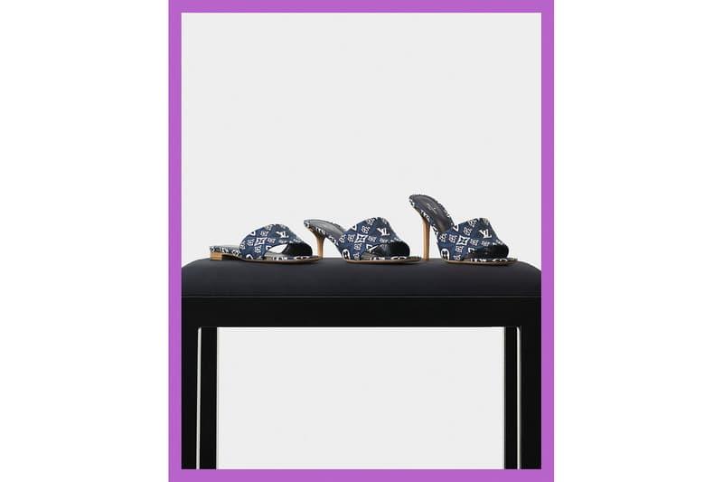 louis vuitton since 1854 blue spring collection shoes monogram jacquard nicolas ghesquiere