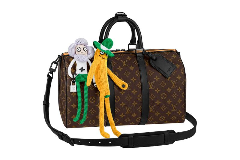 louis vuitton lv mens zoooom with friends spring summer 2021 ss21 collection virgil abloh accessories leather goods keepall bandouliere
