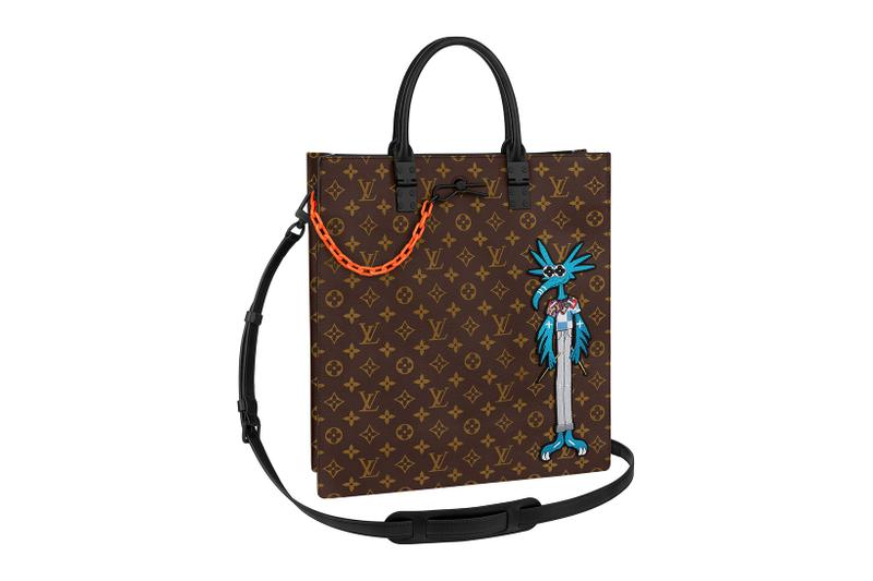 louis vuitton lv mens zoooom with friends spring summer 2021 ss21 collection virgil abloh accessories leather goods monogram sac plat