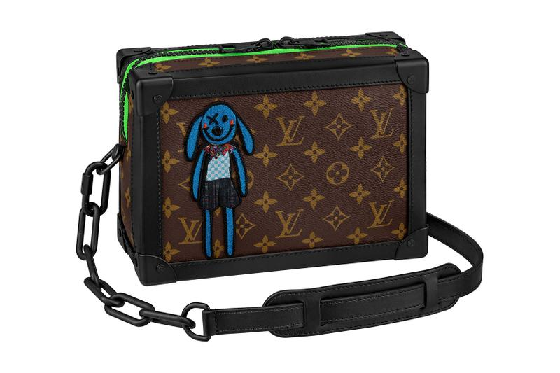 louis vuitton lv mens zoooom with friends spring summer 2021 ss21 collection virgil abloh accessories leather goods soft trunk
