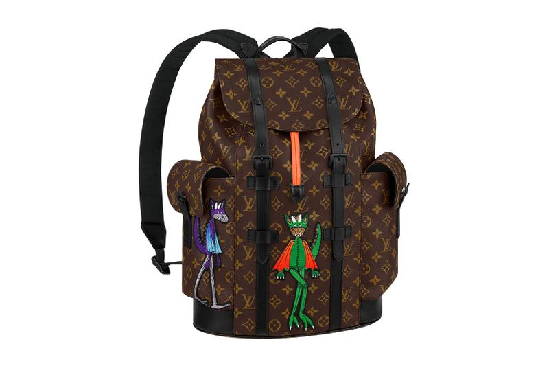 louis vuitton lv mens zoooom with friends spring summer 2021 ss21 collection virgil abloh accessories leather goods monogram christopher backpack