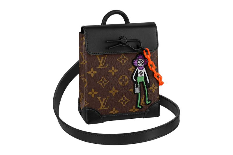 louis vuitton lv mens zoooom with friends spring summer 2021 ss21 collection virgil abloh accessories leather goods steamer nano monogram bag