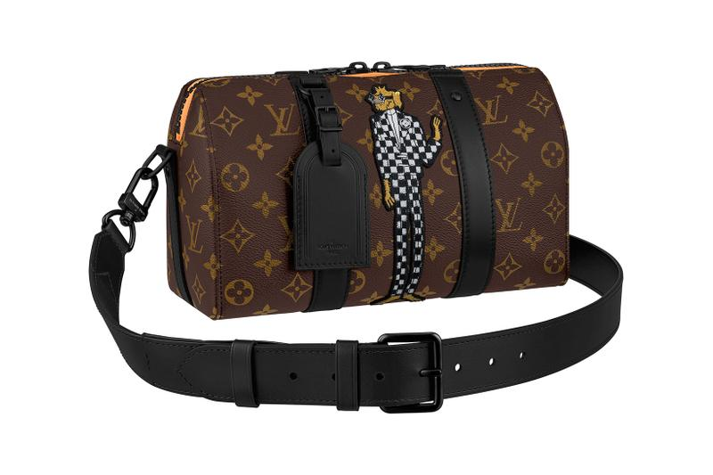 louis vuitton lv mens zoooom with friends spring summer 2021 ss21 collection virgil abloh accessories leather goods keepall duffle bag