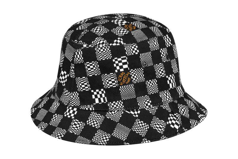 louis vuitton lv mens zoooom with friends spring summer 2021 ss21 collection virgil abloh accessories bucket hats damier check