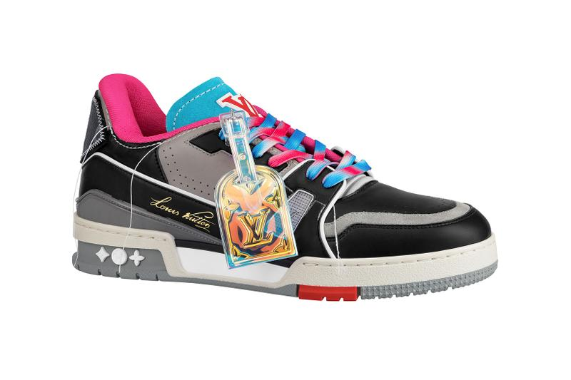 louis vuitton lv mens zoooom with friends spring summer 2021 ss21 collection virgil abloh accessories trainer sneaker
