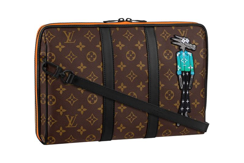 louis vuitton lv mens zoooom with friends spring summer 2021 ss21 collection virgil abloh accessories leather goods keepall monogram pouch